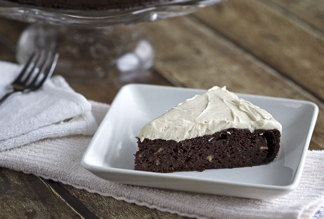 Chocolate Beetroot Cake with Maple Cream Cheese Frosting | Recipe