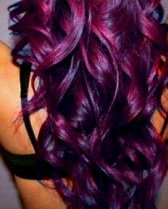 Love this color Eggplant Purple   hair   Pinterest