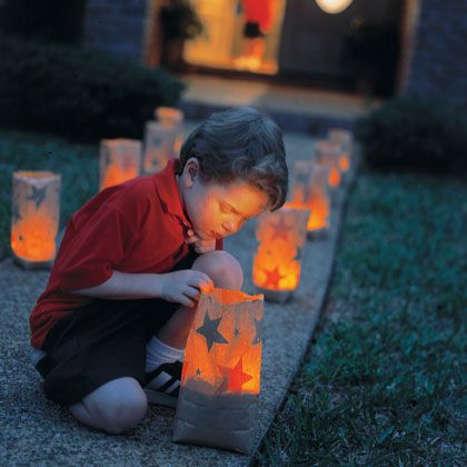 Star-Spangled Luminarias