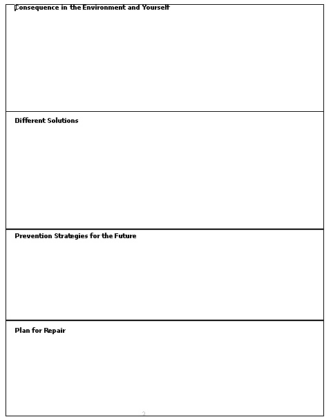 Chain Analysis Worksheet Behavioral Of Problem Pictures