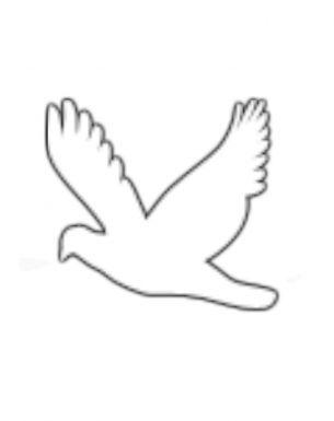 free printout for a dove pattern Pinterest - dinocro.info