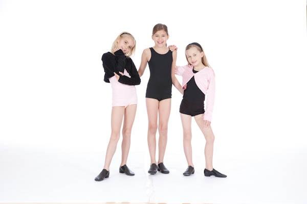 activewear cute pink black children fun clothes athletic wear