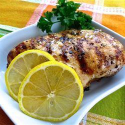 Lemon Chicken Oregano Allrecipes.com | Fitness | Pinterest