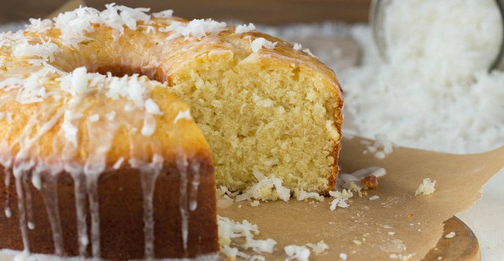 Grandma's Coconut Cake (coconut pound cake? yes please!)