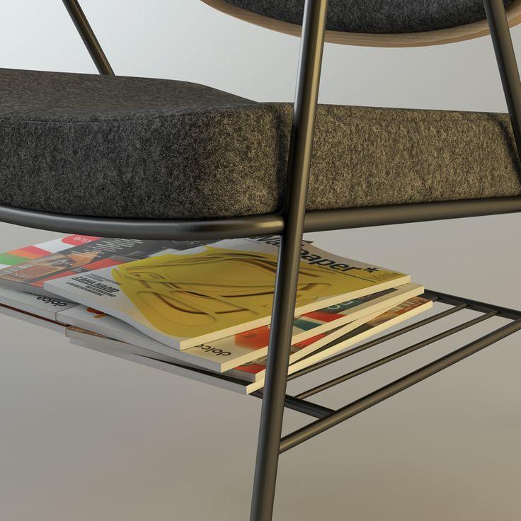 oliver hrubiak: finn lounge chair