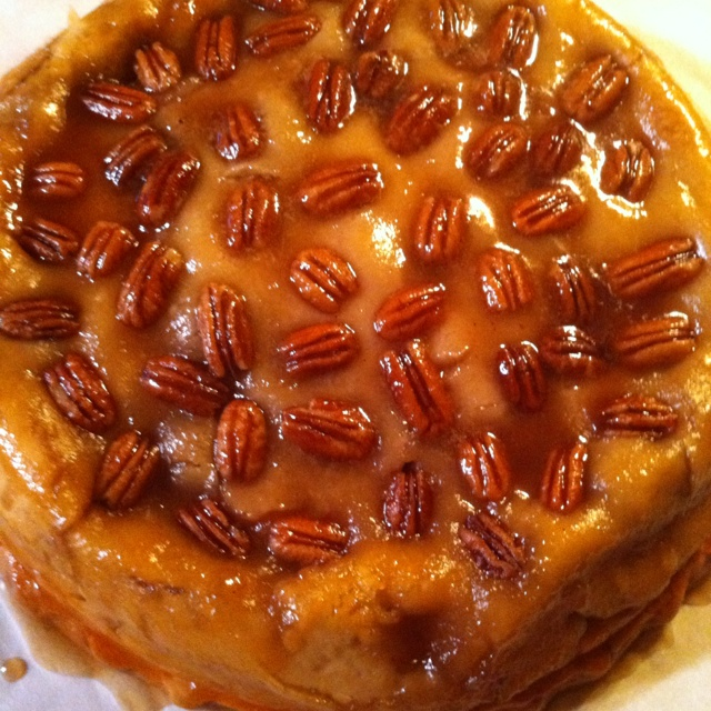Apple Pecan Pie Upside Down Recipe — Dishmaps