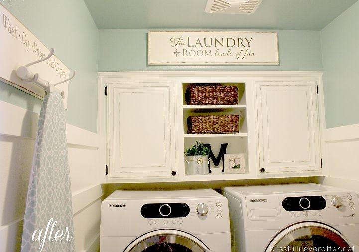Folding laundry doors