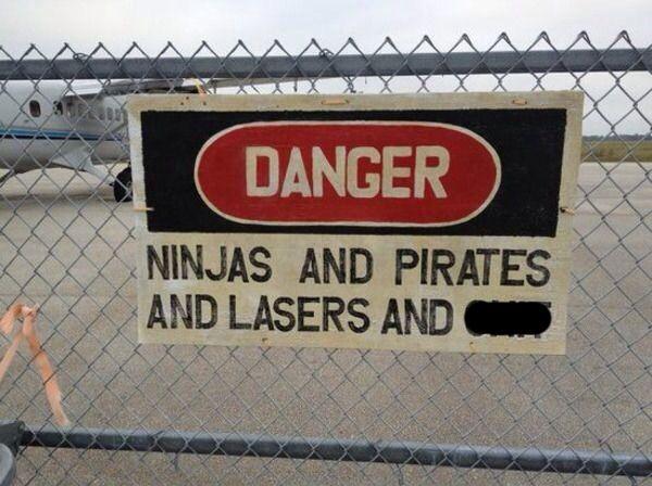 Funny Warning Meme : The best danger sign ever funny pinterest