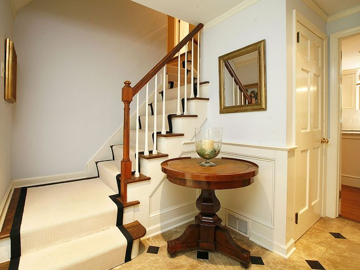 small entryway stairs pinterest