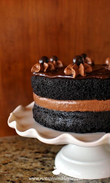 Midnight Sin Chocolate Cake