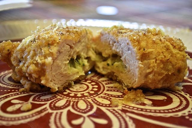 Chicken Stuffed with Zucchini and Mozzarella