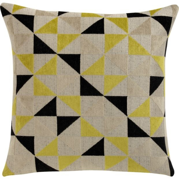 Lovely geometric pattern on the pillow