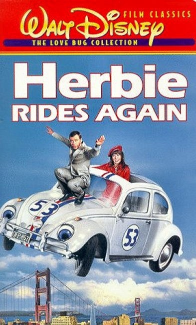 1974 herbie rides again movies pinterest. Black Bedroom Furniture Sets. Home Design Ideas