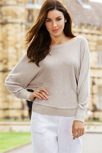 Women s Tops - Capture Sparkly Knit