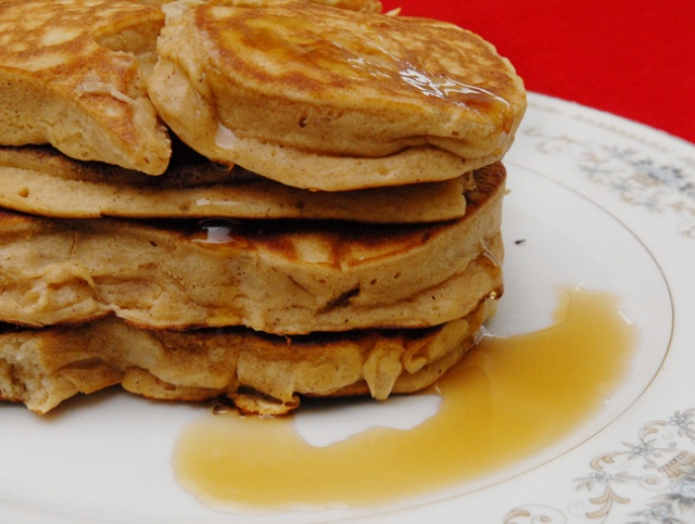 Eggnog Pancakes | Thanksgiving and Christmas | Pinterest