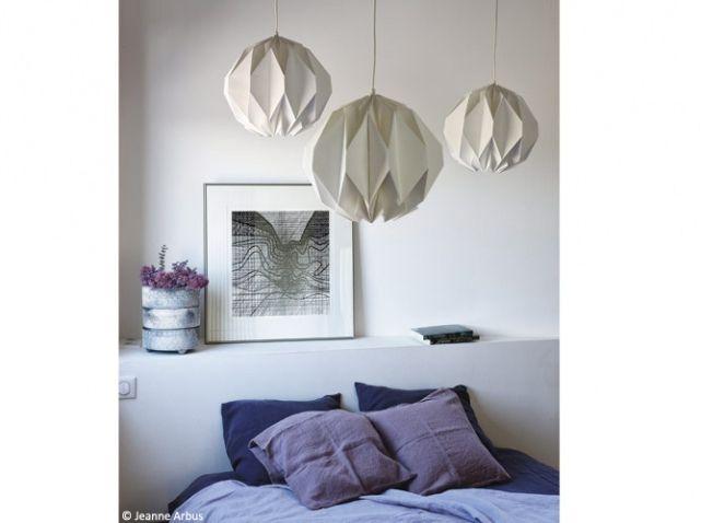 Chambre violette et blanche chambre pinterest for Chambre violette