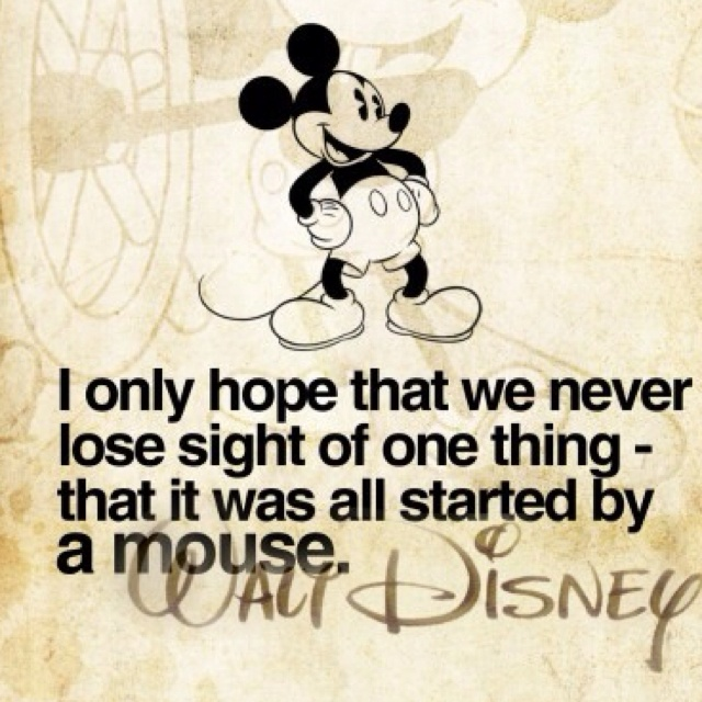 disney it all started with a mouse