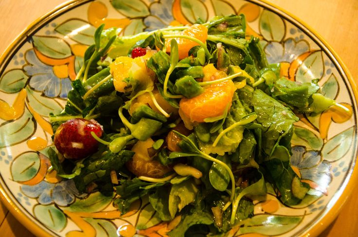 ... salad with tomato and black bean salsa cactus and corn salsa