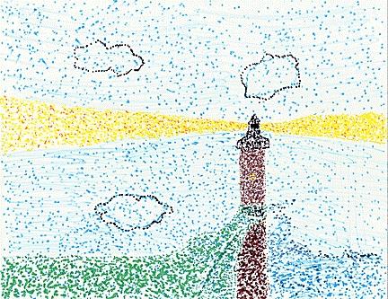 Pointillism | Pointillism | Pinterest