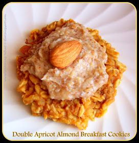 ... Eat: Double Apricot Almond Breakfast Cookies with Sweet Almond Butter