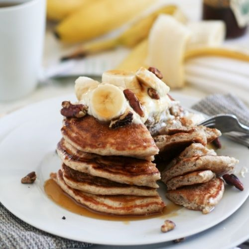 Banana Buttermilk Pancakes. | Recipes I want to make | Pinterest
