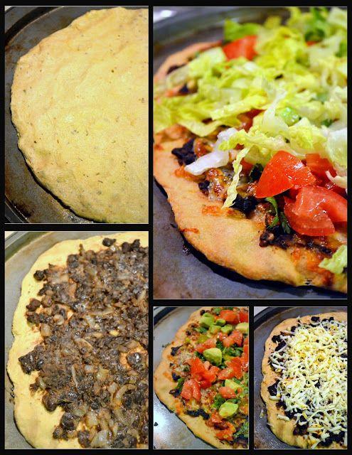 Mexican Black Bean Pizza | gluten & dairy free | Pinterest