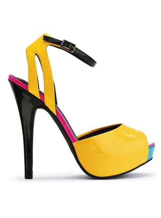 Colin Stuart - Peep-toe-Pump - #shoes