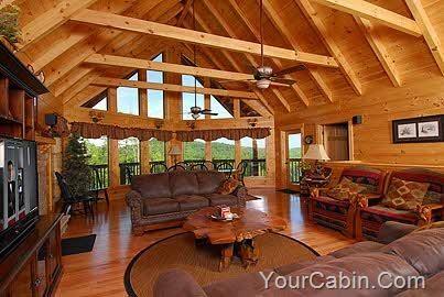 cabin open floor plan ideas for our new house pinterest