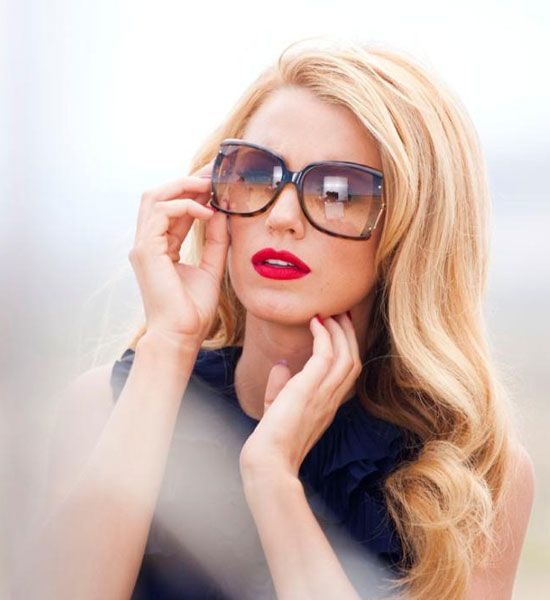 Gucci sunglasses - Blake lively. | FACE FRAME | Pinterest