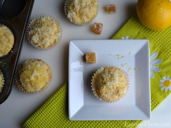 Lemon Ginger Muffins | Cupcakes | Pinterest