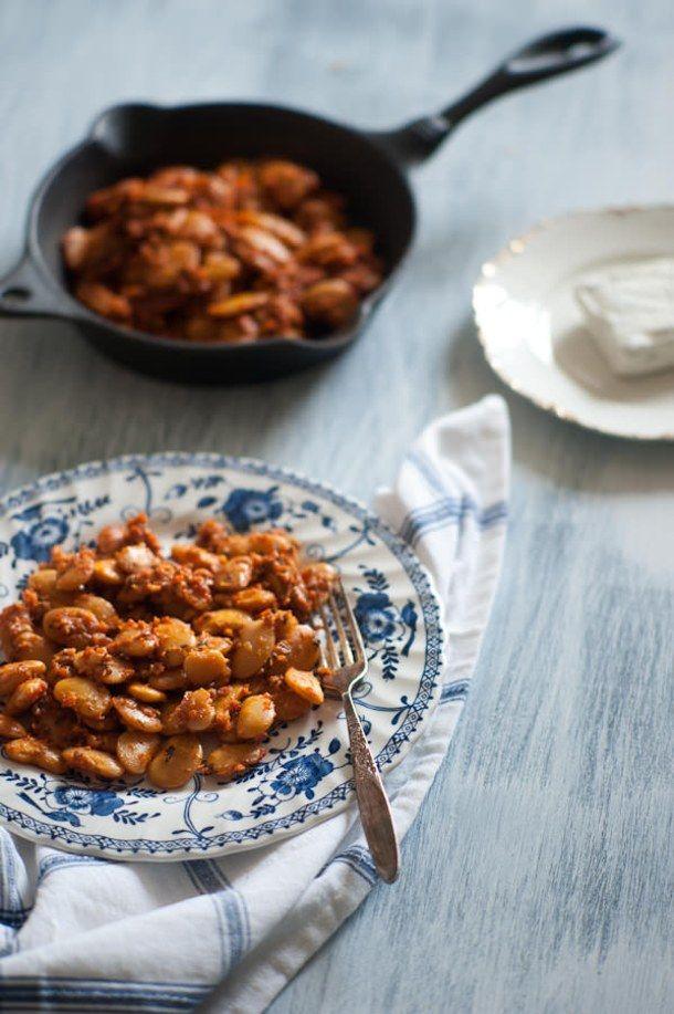 Gigantes Plaki, Greek baked beans.... Yigendes!!