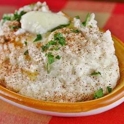 Garlic Mashed Cauliflower | Carb Free | Pinterest