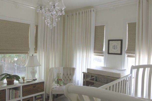 Corner window curtains   For the Home   Pinterest