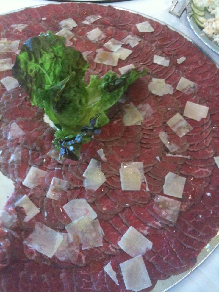 Beef Carpaccio | CARPACCIOS | Pinterest