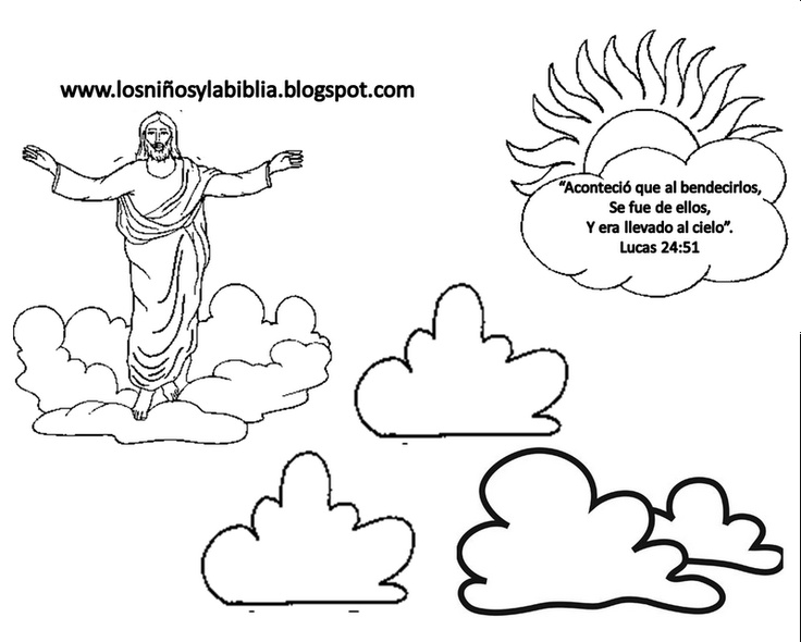 Jesus template | Sunday School | Pinterest