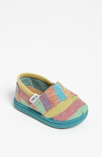 TOMS 'Classic - Tiny' Plaid Slip-On (Baby, Walker & Toddler) available