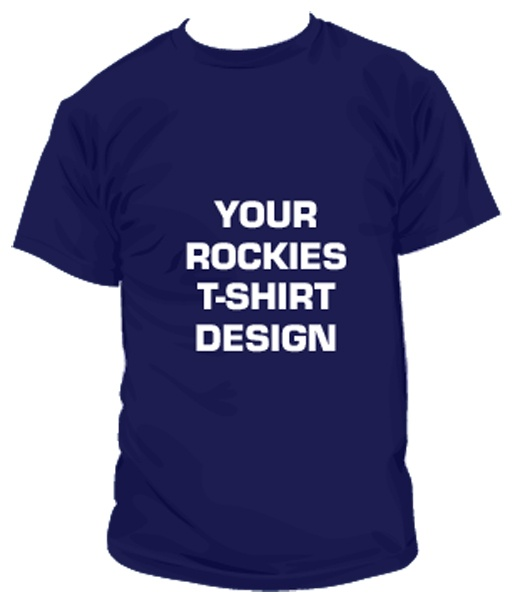 Design your own promotional t shirt in the year of the fan for Customize your own baseball shirt
