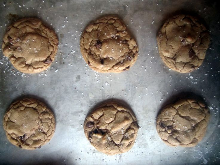 Browned Butter Sea Salt and Chocolate Chip Cookies. These are to die ...