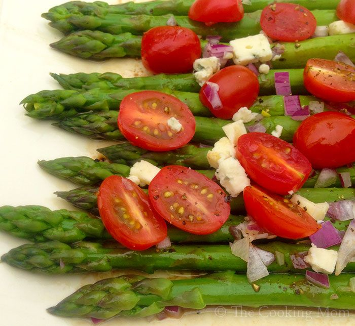 Asparagus Salad   The Cooking Mom   recipes   Pinterest