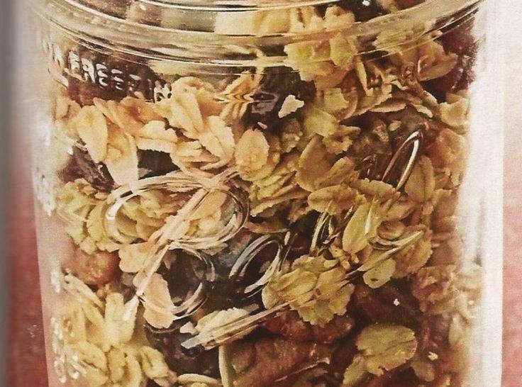 Cherry Pecan Granola | Cat's Snacks | Pinterest