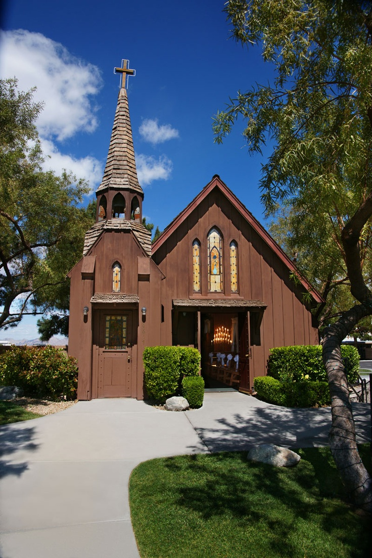 Little church of the west joao and laura pinterest for Little wedding chapel las vegas