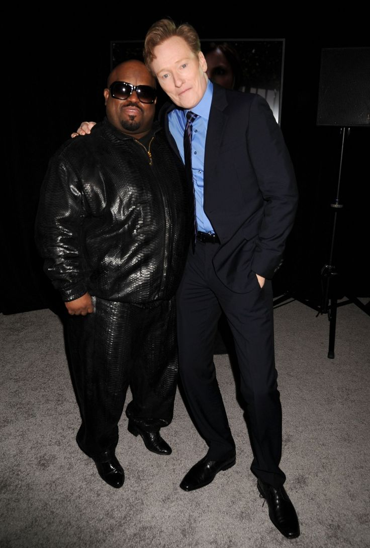 Cee Lo Green And Conan OBrien | GRAMMY.com