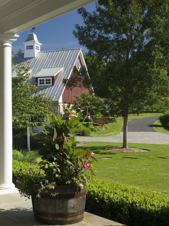 Landscaping Around Barn Barn Ideas Pinterest