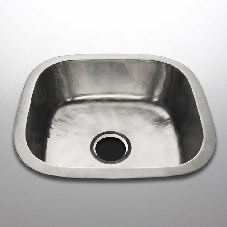 Overmount Sink : ... Square Overmount / Undermount Single Kitchen Sink 19