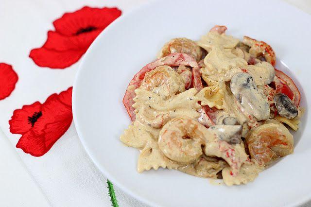 Dalia's Delights: Shrimp and Crawfish Creamy Cajun Pasta