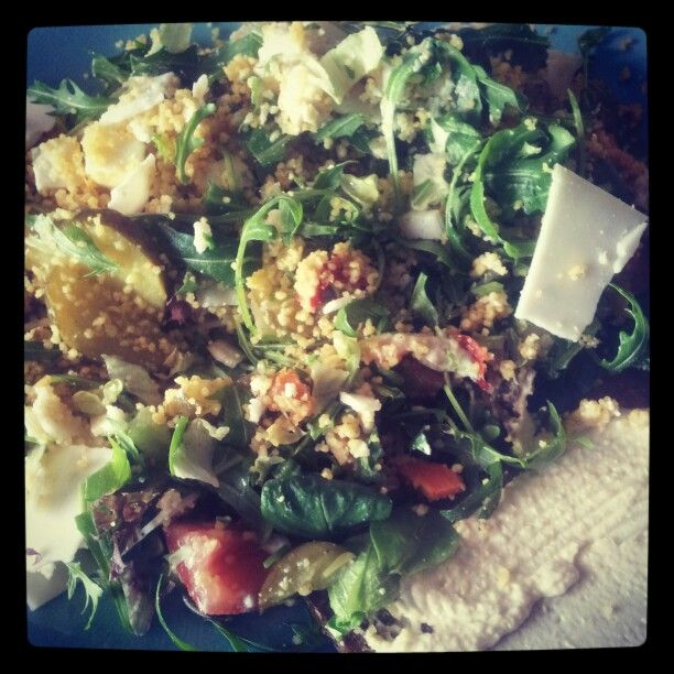 Healthy lunch salad | Healthy Living | Pinterest