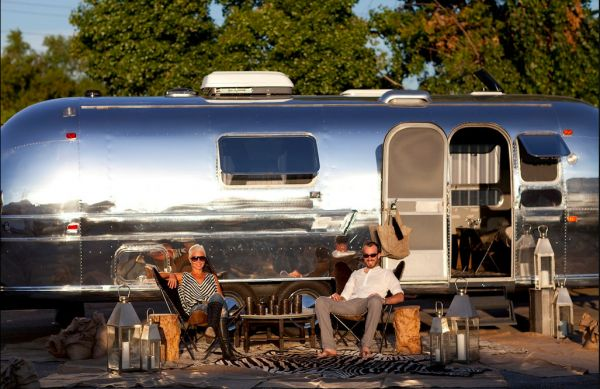 Would love to own and ride in a beautiful Airstream like this one. Someday...