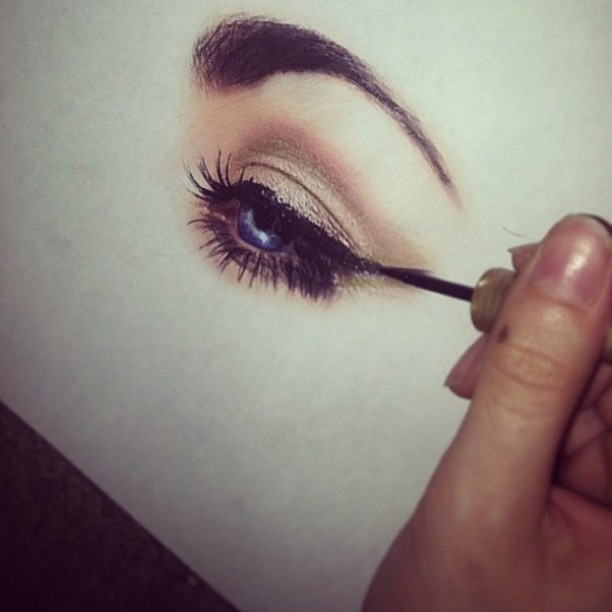 makeup drawing wwwimgkidcom the image kid has it