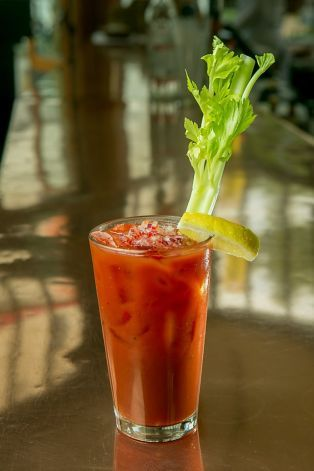 The Balsamic Bloody Mary. Photo: John Storey, Special To The Chronicle
