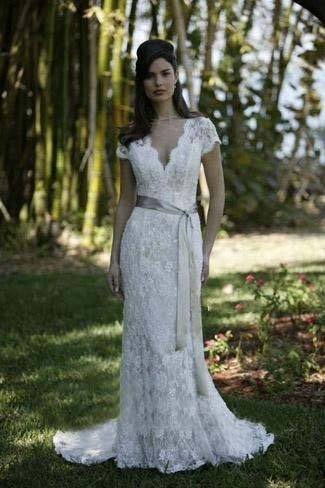 Simple White Dress on Simple White Wedding Dress   Dream Wedding